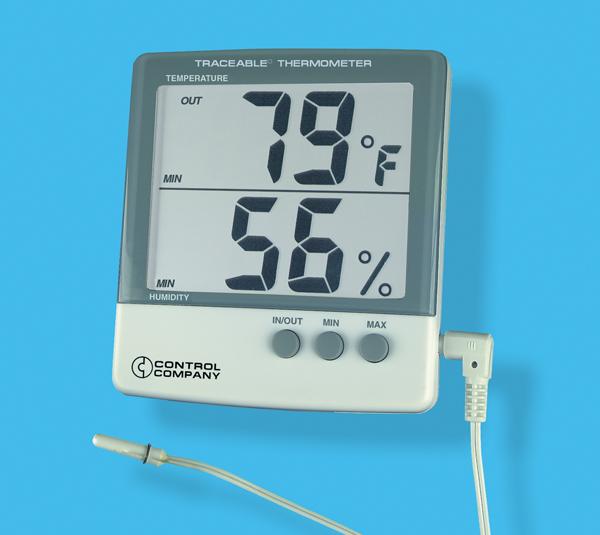 Termohigrometro medidor de humedad modelo 4184 tpm for Medidor de temperatura y humedad digital
