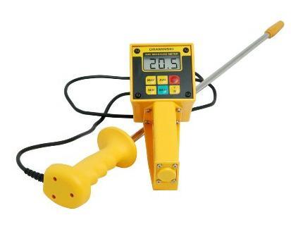 Dr hmm medidor humedad en heno paja tpm equipos s a de c v for Medidor de temperatura y humedad digital