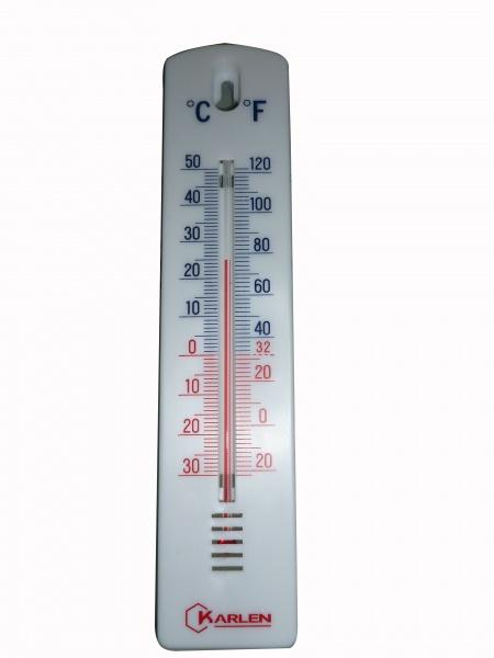 Termometro analogo ambiental pared zls 180 tpm equipos s - Termometro de pared ...