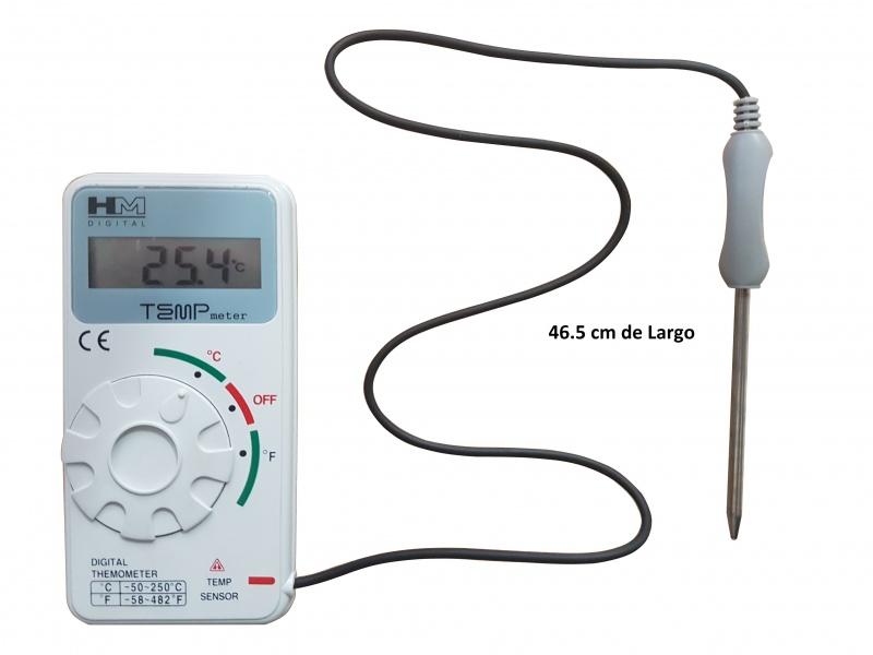Ql Tm100 Termometro Industrial Con Sensor 50 250 Tpm Equipos S A De C V Medicion Mexico O termômetro bimetálico industrial é construído com bimetal helicoidal composto de dois metais laminados com diferentes coeficientes de dilatação térmica, caixa de aço carbono e erro máximo de ±. ql tm100 termometro industrial con